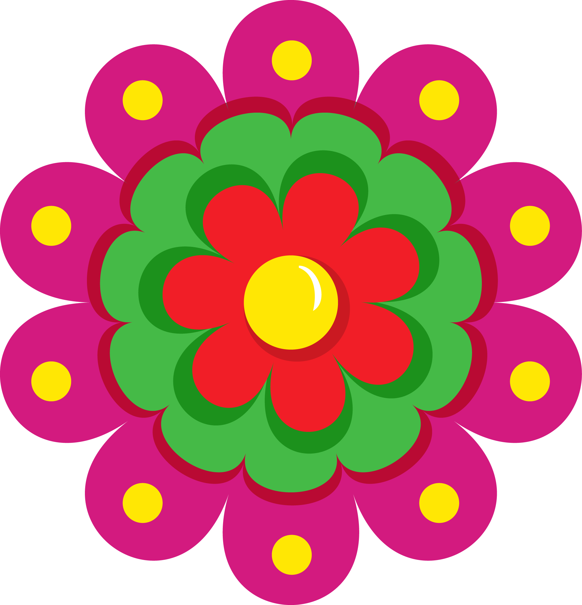 Free Mexican Flower Borders Clipart - Clipartmansion.com
