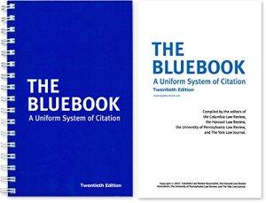 bluebook 20