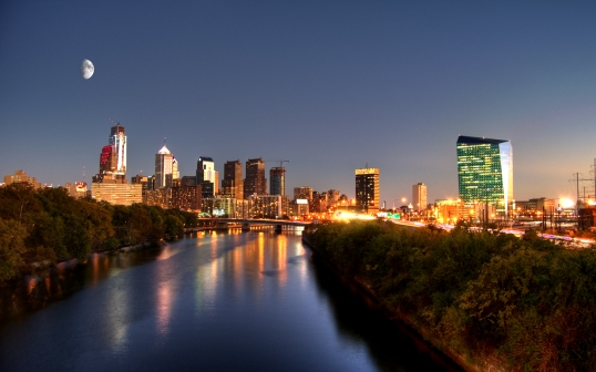 Philadelphia_skyline_sunset