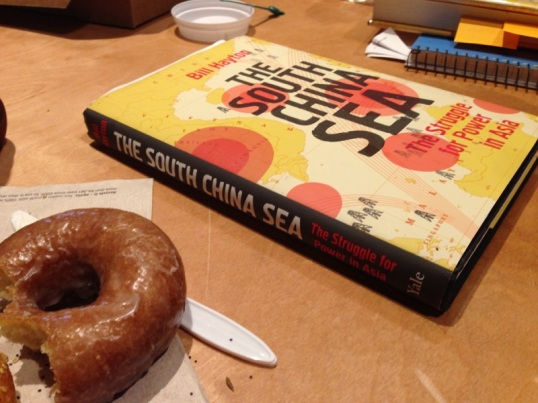 south china sea with donut