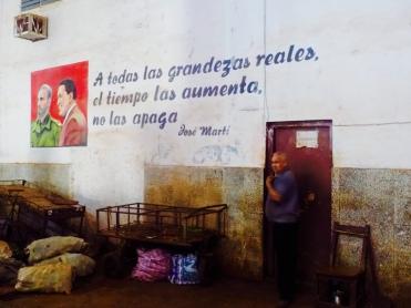 Cuba - Jose Marti quote on wall