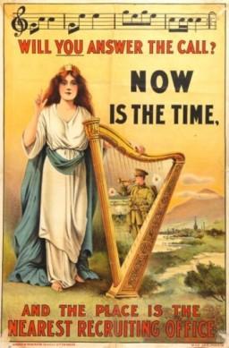 WWI Irish recruitment poster