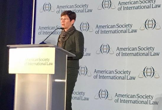 Judge Joan Donoghue_ASIL Grotius Lecture_2018