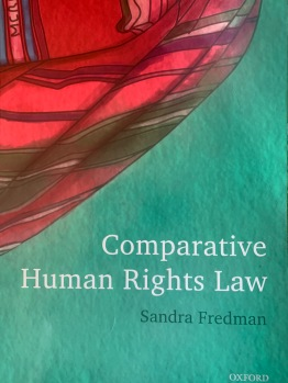 Book cover: Comparative Human Rights Law, Sandra Fredman