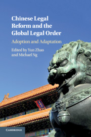 Book Cover for Chinese Legal Reform and the Global Legal Order