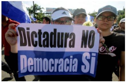 """""""Dictatorship No, Democracy Yes"""""""